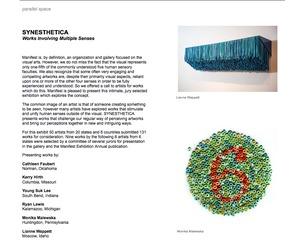 Synesthetica, group exhibition