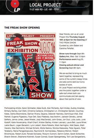 The Freak Show
